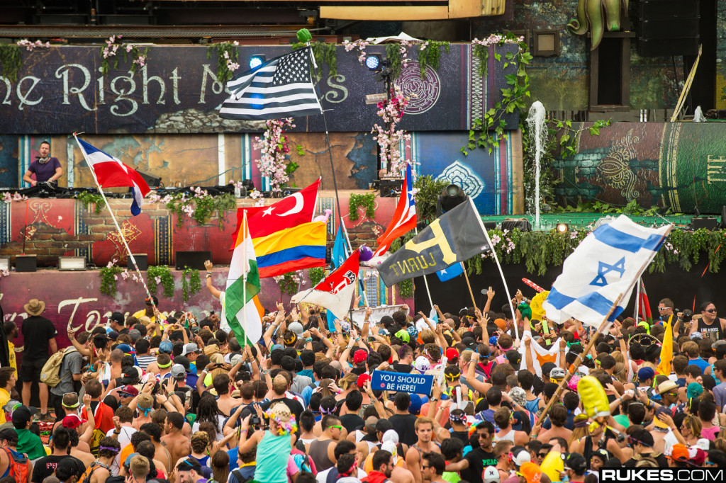 TomorrowWorld Flags