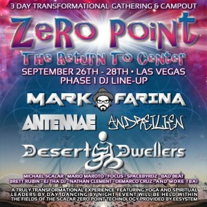 Zero Point @ Delphi Amphitheater | Nevada | United States