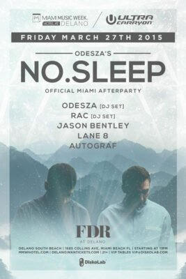 Odesza's No Sleep Afterparty at Delano Beach Club @ Delano Beach Club | Miami Beach | Florida | United States