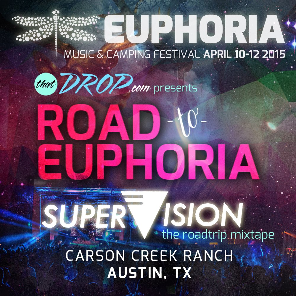 Supervision road to euphoria music festival guest mix for Euphoric house music