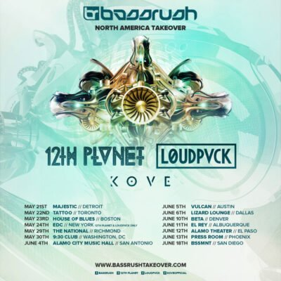 Bassrush North America Takeover Richmond @ The National | Richmond | Virginia | United States