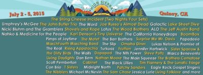 High Sierra Music Festival @ Quincy, California | Quincy | California | United States