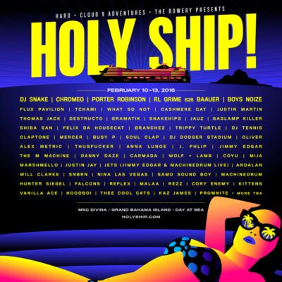 Holy Ship! Weekend 2 @ MSC Divina | Miami | Florida | United States