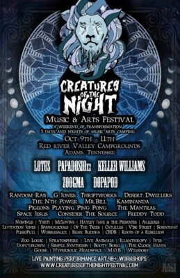 Creatures Of The Night Music & Arts Festival @ Red River Valley Campgrounds | Adams | Tennessee | United States
