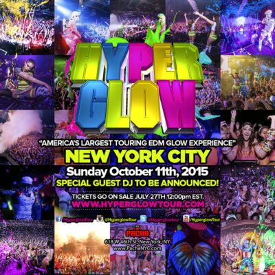 Hyperglow New York City @ Pacha NYC | New York | New York | United States