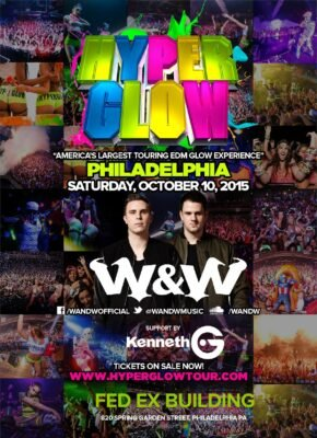 Hyperglow Philadelphia @ FedEx Building | Philadelphia | Pennsylvania | United States