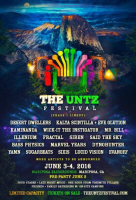 The Untz Festival @ Yosemite National Park | California | United States