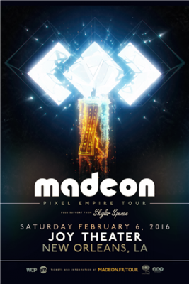 Madeon New Orleans @ Joy Theater | New Orleans | Louisiana | United States