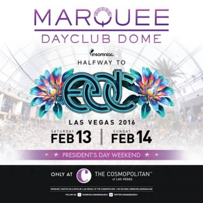 Halfway To EDC @ Marquee Dayclub | Las Vegas | Nevada | United States