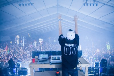 Baauer at Camp Bisco 2013