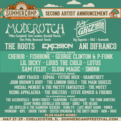 Summer Camp Music Festival @ Three Sisters Park | Chillicothe | Illinois | United States