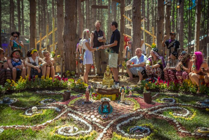 People got Hitched at the Love Garden