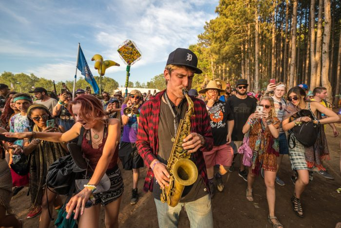 Griz Took to the Forest and Started a Roaming Concert