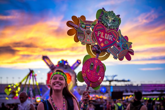 Plur Vibes via Jake West for Insomniac
