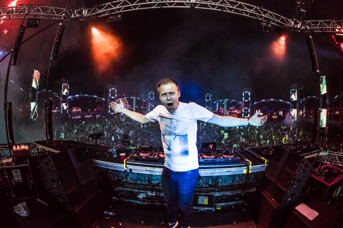Armin van Buuren at circuitGROUNDS via aLIVE Coverage for Insomniac