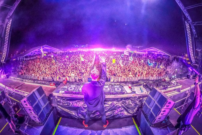 Hardwell's Closing Set Day 1 of Sunset Music Festival
