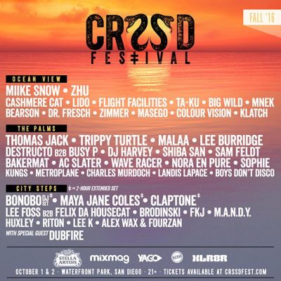 CRSSD Festival @ Waterfront Park, CA | San Diego | California | United States