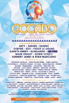 Groove Cruise Cabo @ Norwegian Sun | San Diego | California | United States