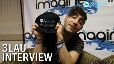 3LAU Interview with thatDROP at Imagine Music Festival