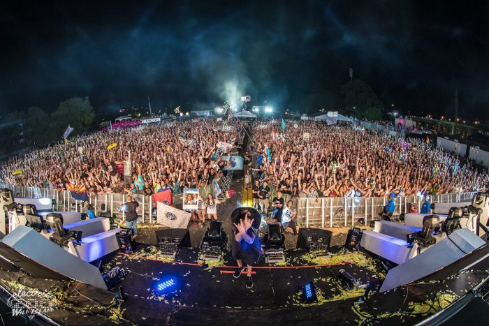 Bassnectar at Electric Zoo 2016 // Photo via Facebook