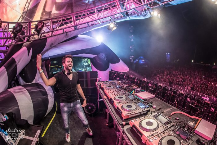 Gareth Emery at Electric Zoo // Photo via Facebook