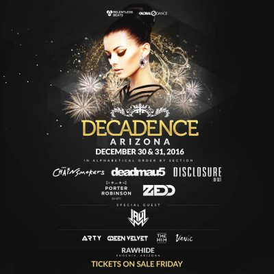 Decadence (Arizona) @ Rawhide Event Center | Chandler | Arizona | United States