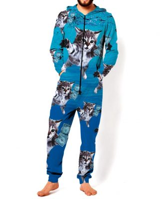 "Click here to buy Cat Cobain Onesie : ""Smells Like Animal Spirits"""
