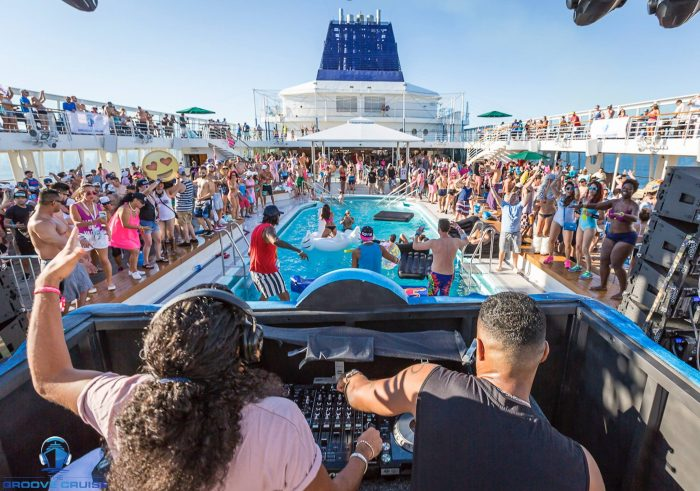 Groove Cruise Cabo Pool Deck w/ Sunnery James and Ryan Marciano