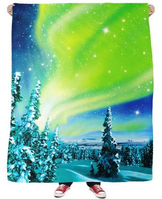Click here to buy Arctic Nights Fleece Blanket