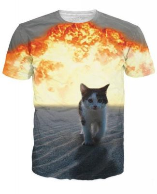 Click here to buy a Cat Explosion T-Shirt