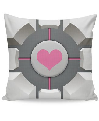 Click here to buy Companion Cube Couch Pillow