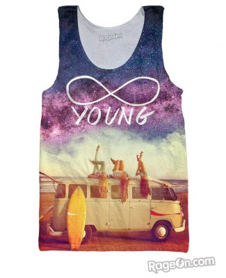 Click here to buy a Young Forever Tank Top