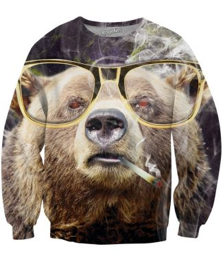 Click here to buy a Bearly High Crewneck Sweatshirt