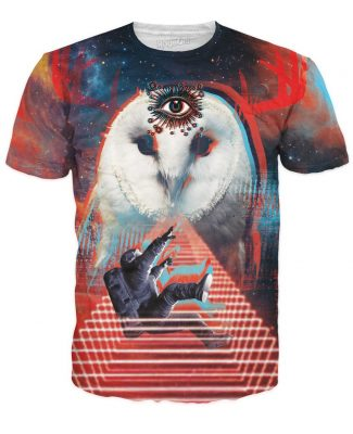Click here to buy a Galactic Owl T-Shirt