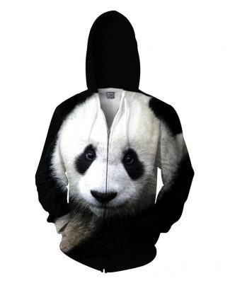 Click here to buy a Panda Zip-Up Hoodie