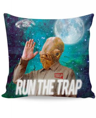 Click here to buy Admiral Ackbar TRAP Couch Pillow