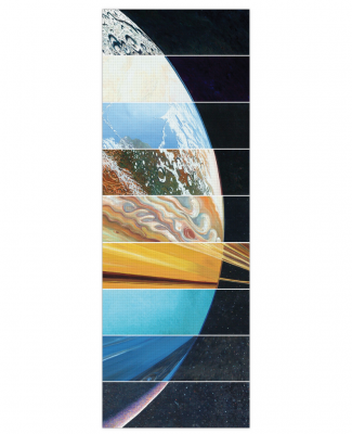 Click here to buy Planets Aligned Yoga Mat