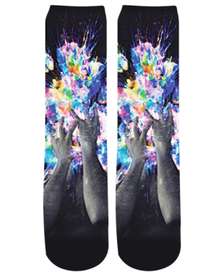 Purchase Artistic Bomb Crew Socks