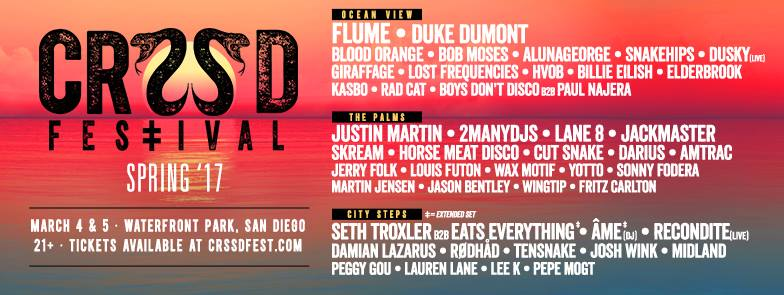CRSSD Festival Spring 2017 @ San Diego | California | United States