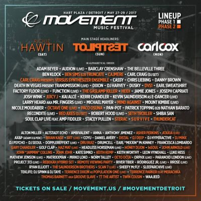 Movement Music Festival @ Detroit | Michigan | United States