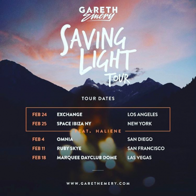 Gareth Emery Saving Light Tour