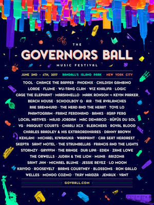 The Governors Ball 2017 @  RANDALL'S ISLAND PARK | New York | New York | United States