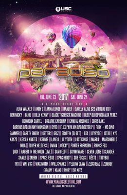 Paradiso Festival @ The Gorge Amphitheatre | Washington | United States