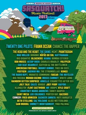 SASQUATCH! Music Festival @ The Gorge Amphitheatre | Quincy | Washington | United States