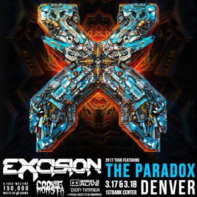 Excision The Paradox Tour @ Firstbank Center | Broomfield | Colorado | United States
