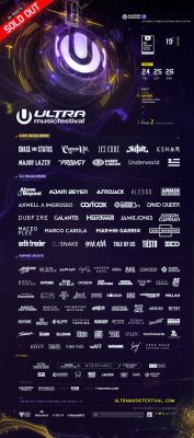 Ultra Lineup Phase 2