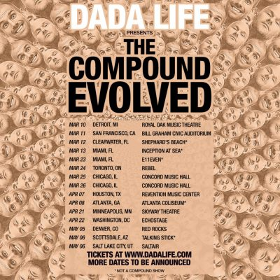 The Compound Evolved Tour Dates and Locations