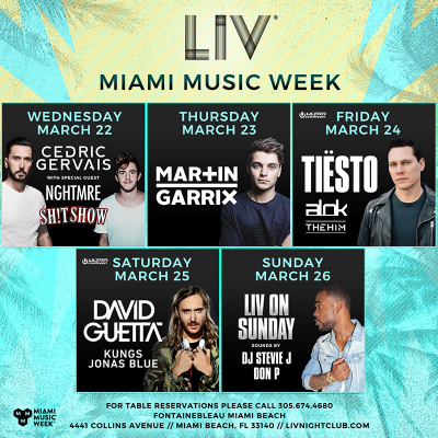 LIV Miami Music Week @ LIV | Miami | Florida | United States