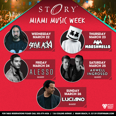 STORY Miami Music Week @ STORY | Miami | Florida | United States