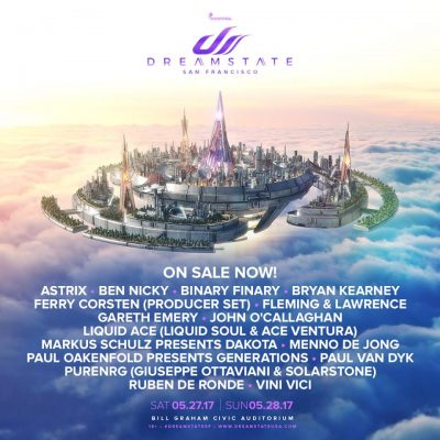 Dreamstate @ Bill Graham Civic Auditorium | San Francisco | California | United States